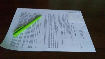 Как оформить расписку о получении документов?